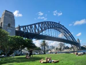 シドニーのハーバーブリッジ