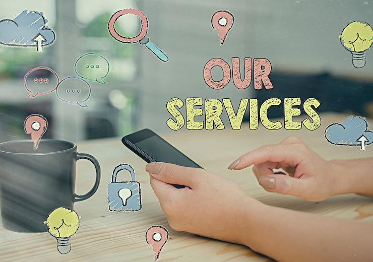 当社が提供するコンテンツ制作サービス一覧